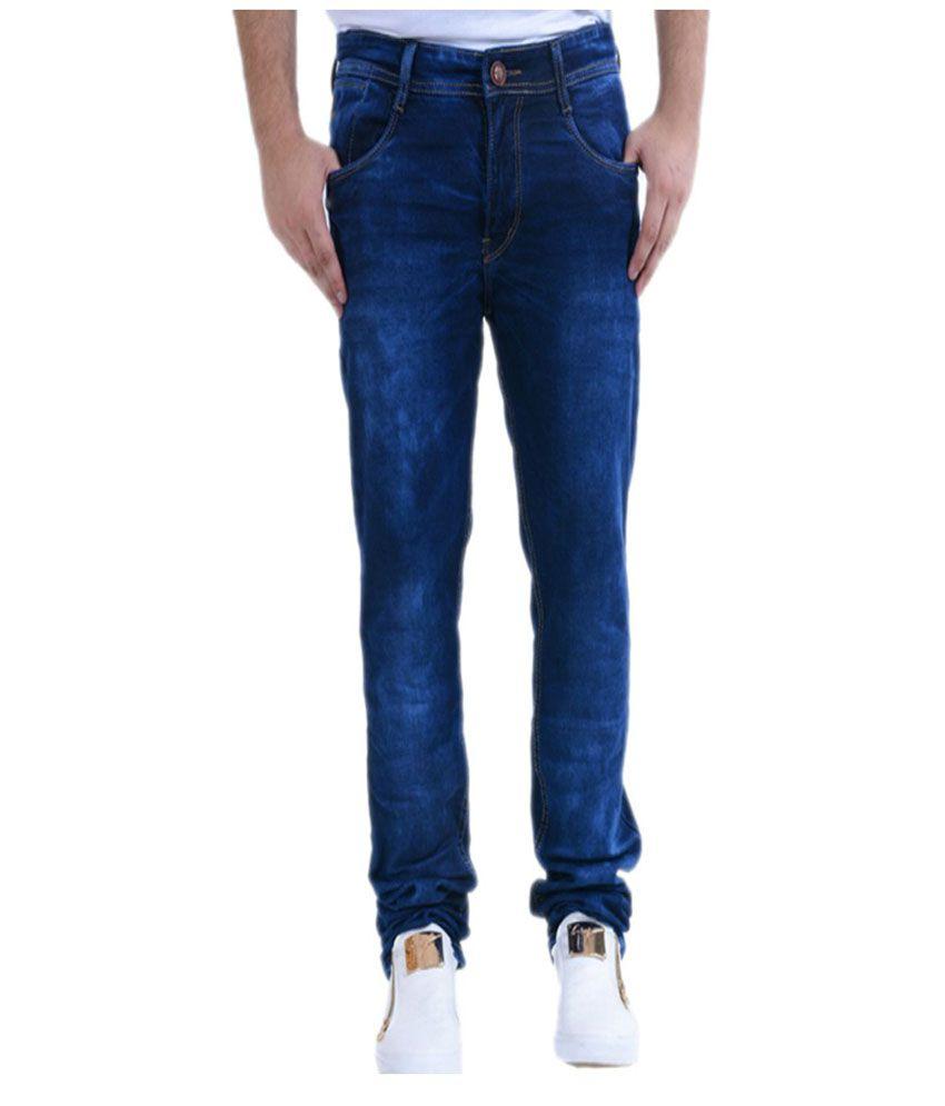 Benzora Dark Blue Slim Jeans