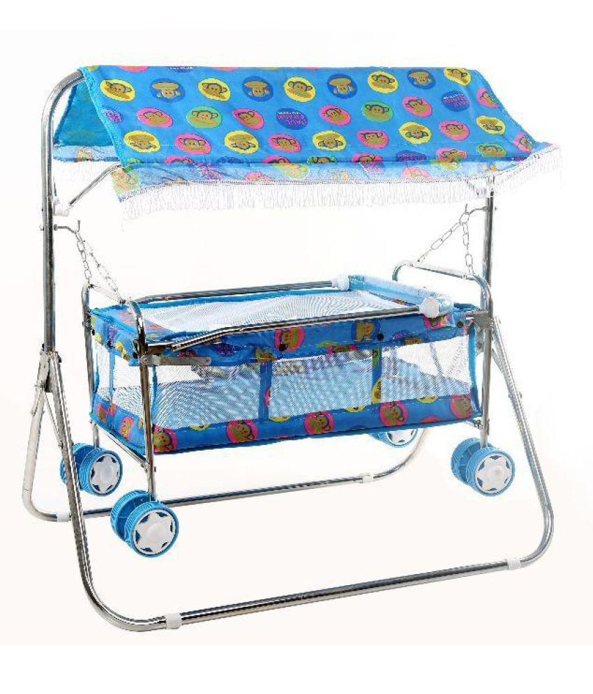 Janda Multicolor Bassinet For Kids