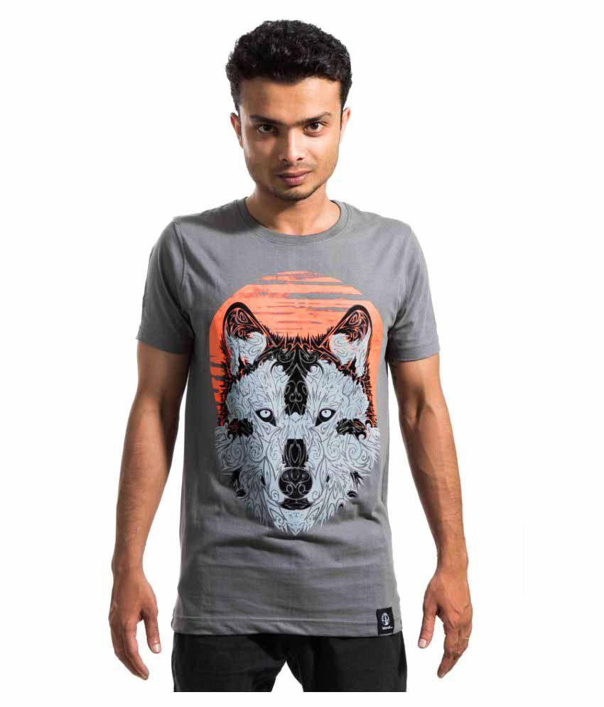 Labscraft Grey Round T-Shirt