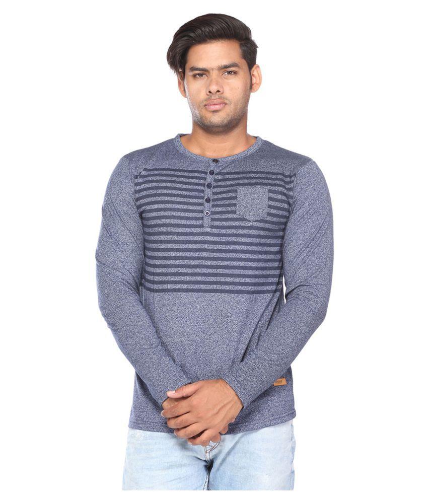 Brink Grey Henley T-Shirt