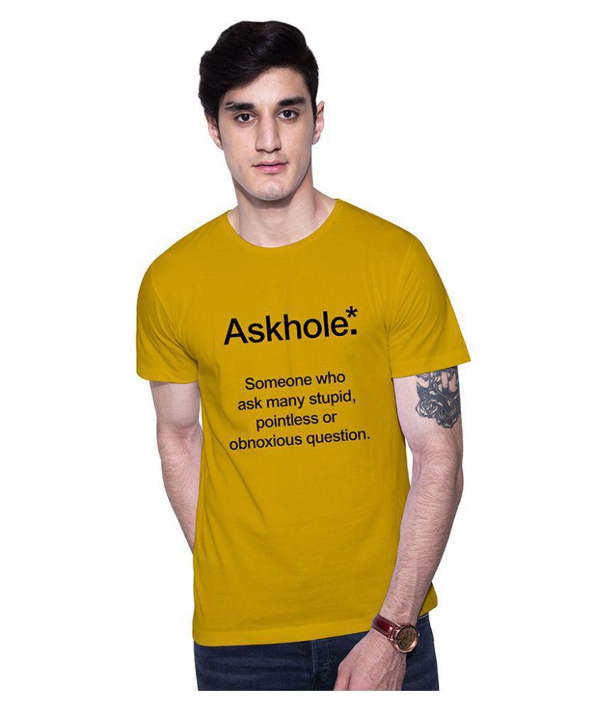 Uptown 18 Yellow Round T-Shirt