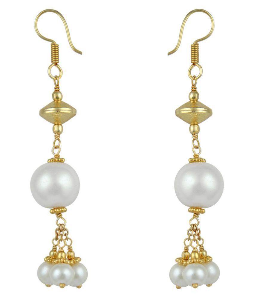 Pearlz Ocean Multicolour Drop Earrings