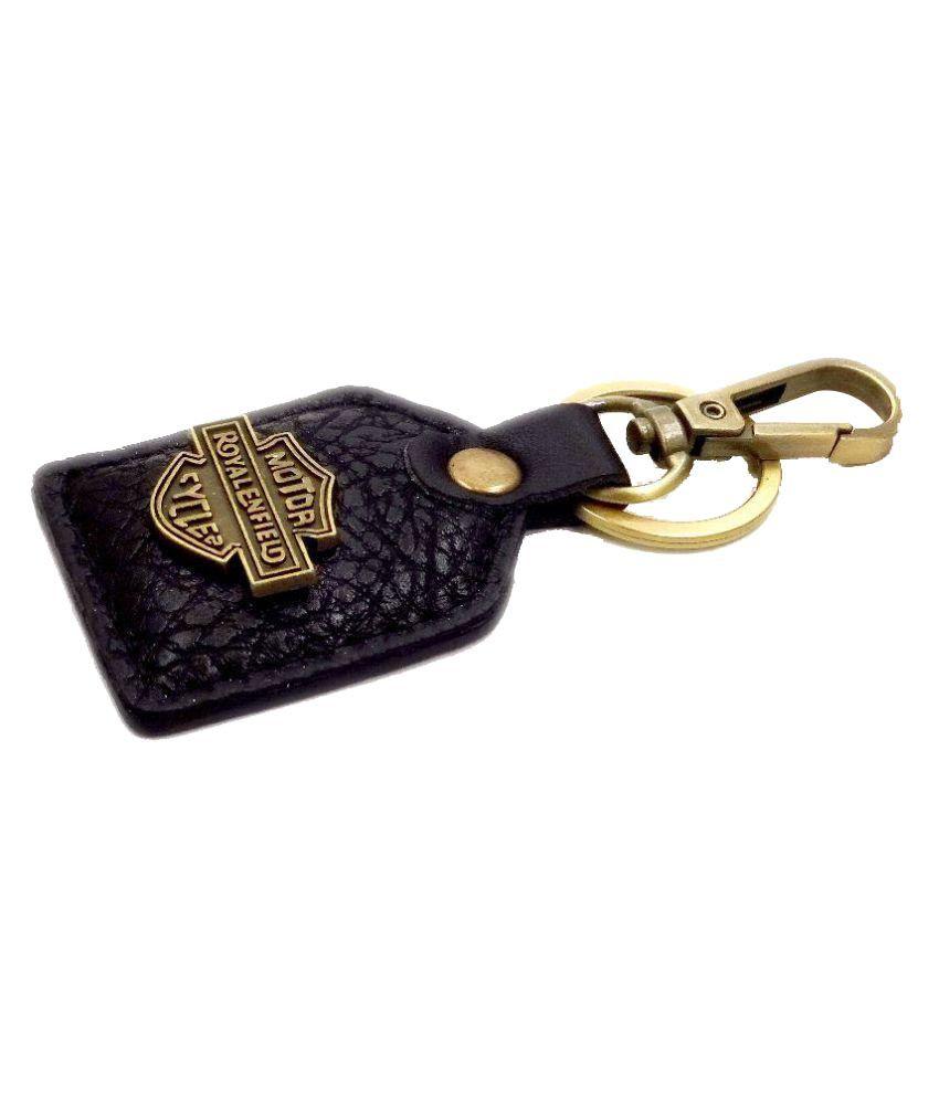 Aditya Traders Royal Enfield Leather Key Chain