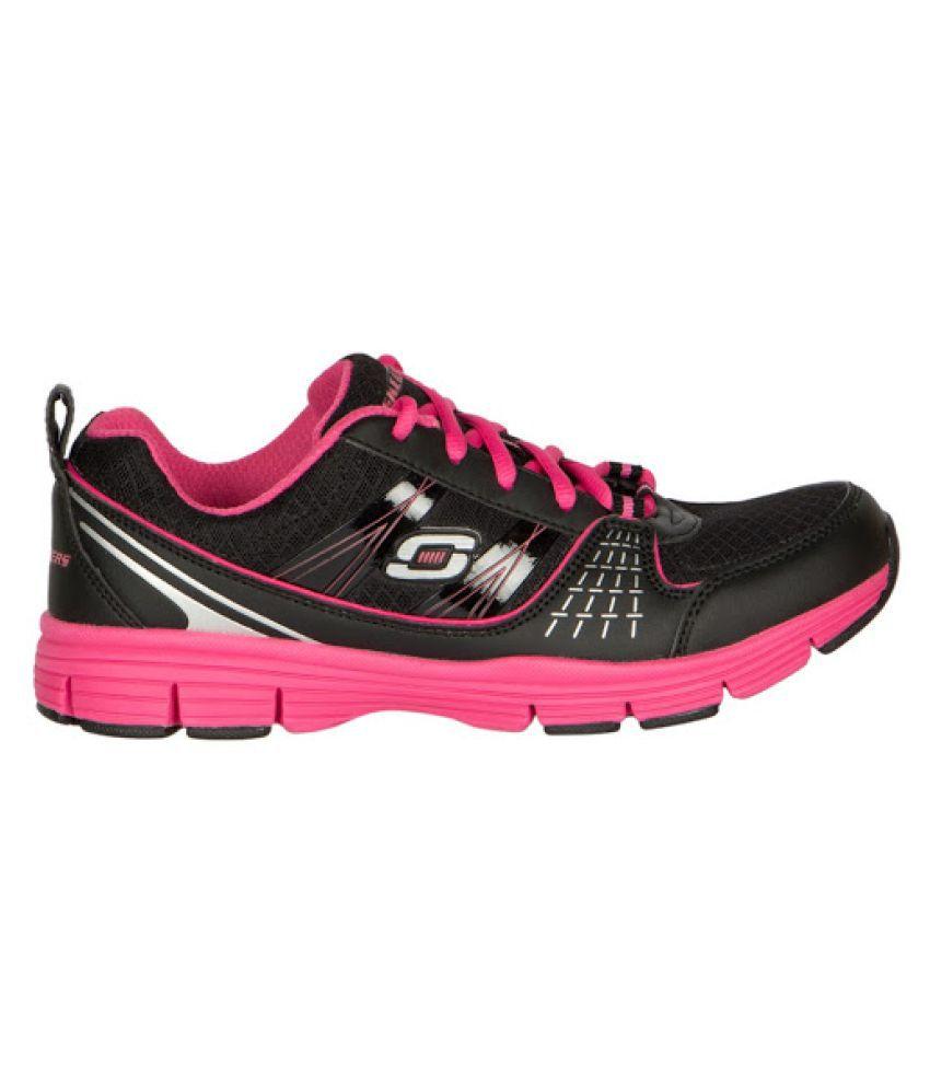Skechers Black Running Shoes