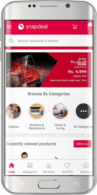 Snapdeal Shopping Apps - Download Shopping Apps for Android, iPhone