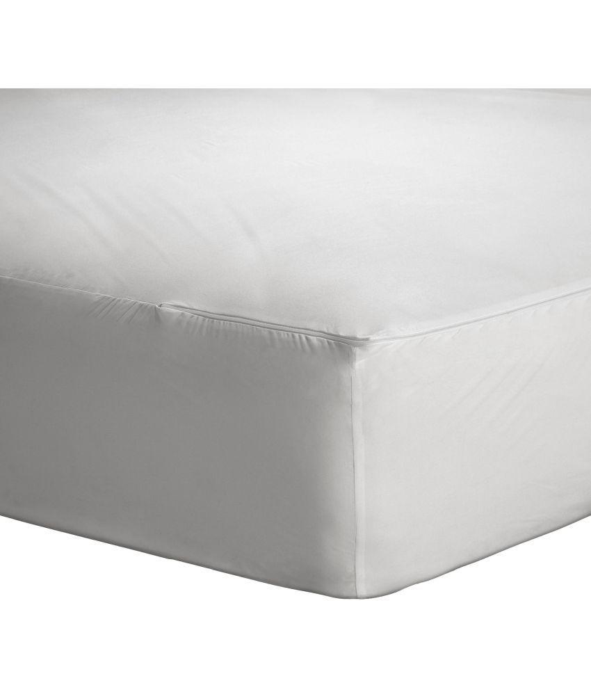 zippered mattress protector. Trance Waterproof Zippered Mattress Protector Maroon Cotton  Zippered Mattress Protector