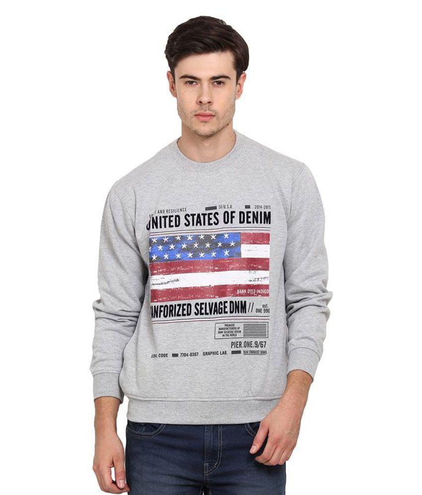 Duke Grey Round T-Shirt