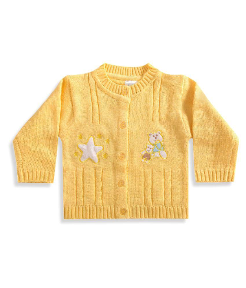 Zonko Style Yellow Sweater - Buy Zonko Style Yellow Sweater Online ...