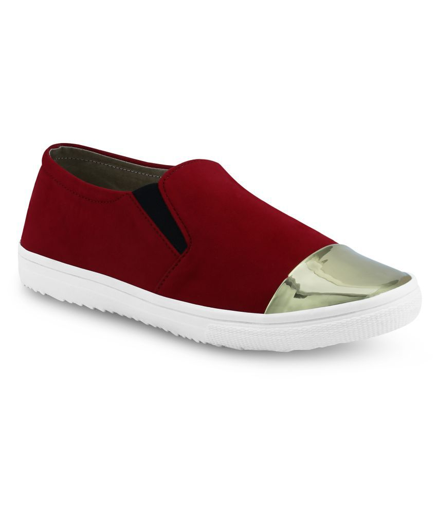 Get Glamr Red Sneakers