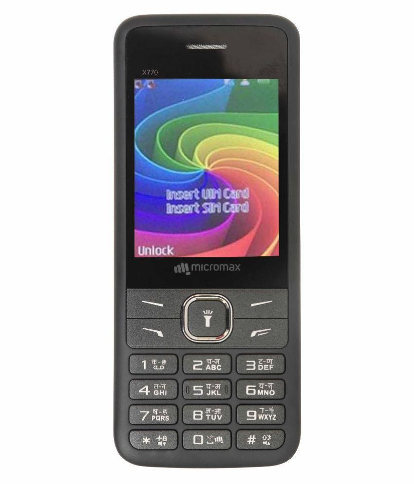 MICROMAX X770