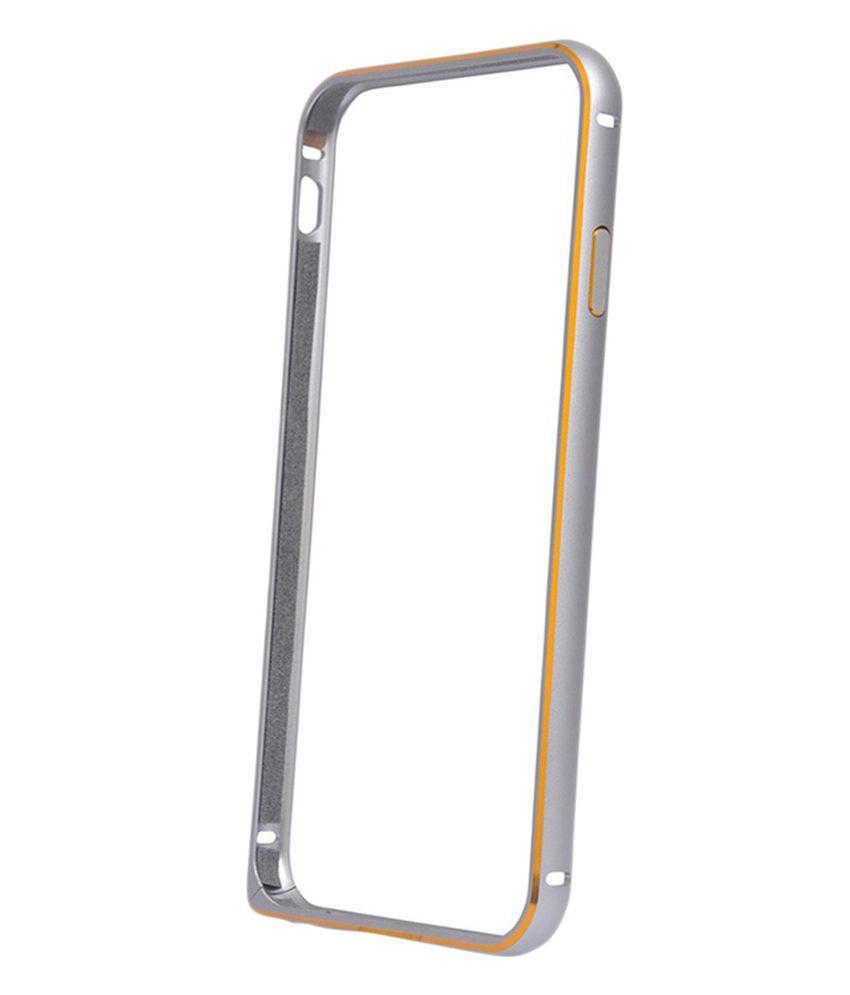 new arrival 463dc 9483f FINDX Bumper Case For Samsung Galaxy J3 (2016) -(Silver)
