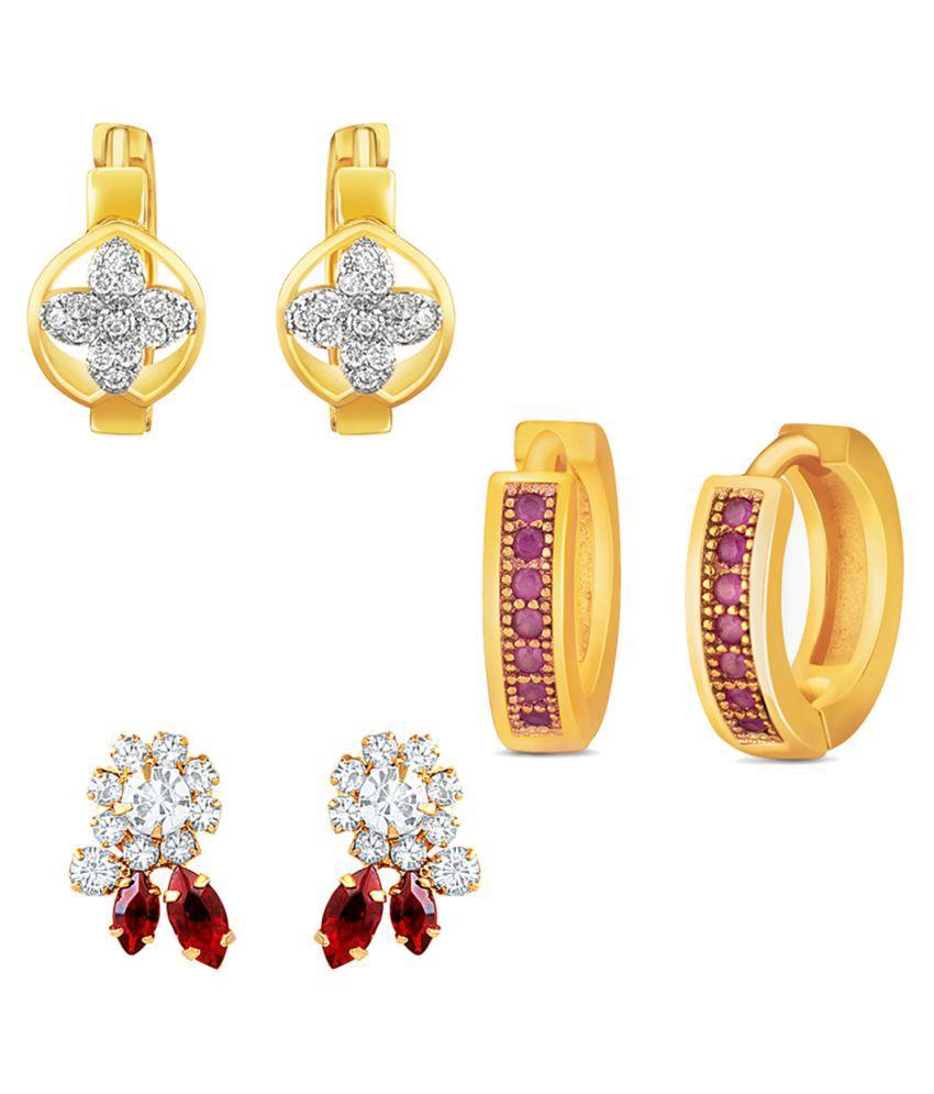 Mahi Multicolour Earrings Combo - Pack of 4