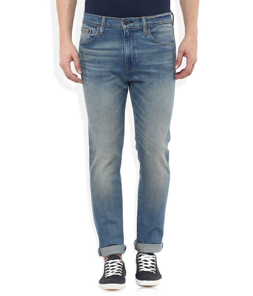 Levis Blue 505C Slim Fit Jeans