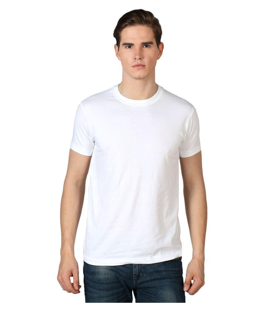 Sulpher White Round T-Shirt