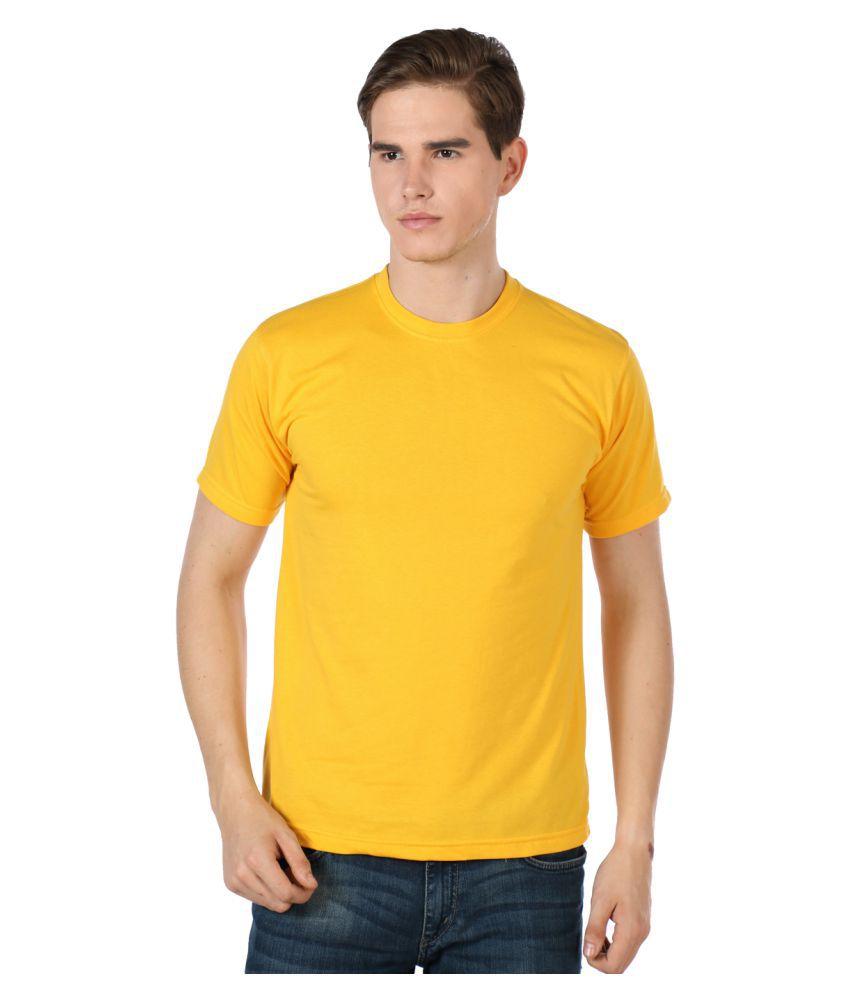 Sulpher Yellow Round T-Shirt