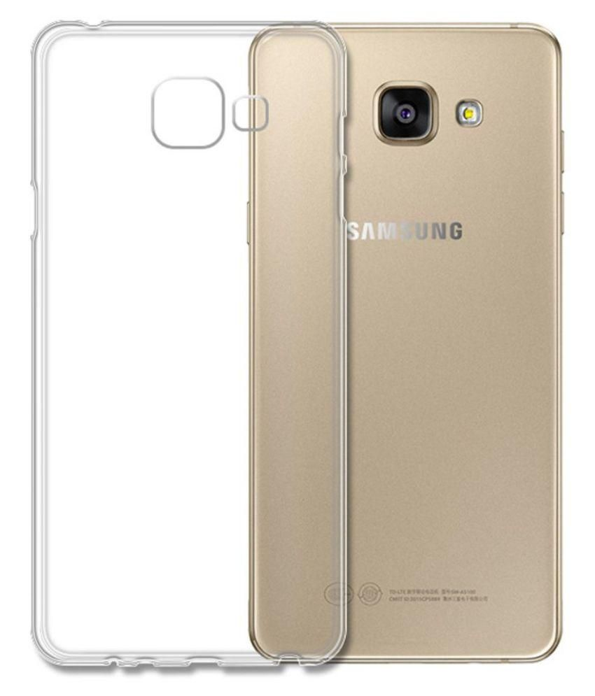 size 40 0d50b df219 Samsung Galaxy A7 (2016) High Quality Soft Silicone Transparent Back Case  Cover