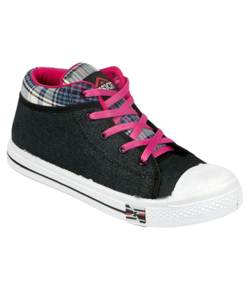 ASIAN Black Sneakers