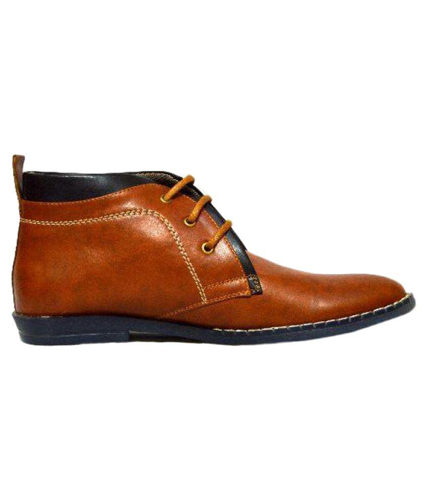 D.A.T Tan Casual Boot
