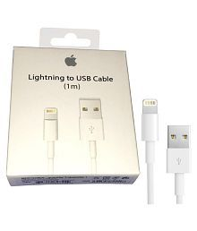 Apple MD818ZM/A Lightening Cable 1 Meter Apple Certified