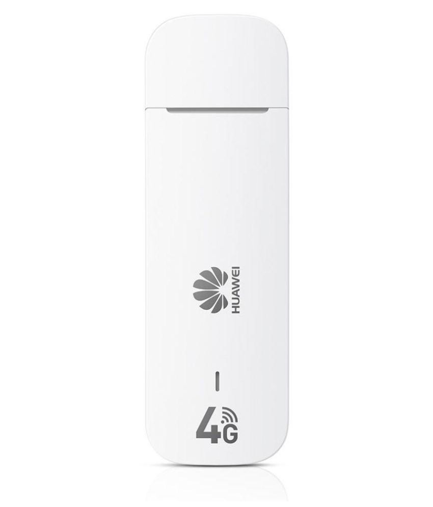 Huawei E3372 Unlocked 4G Data Card (White)