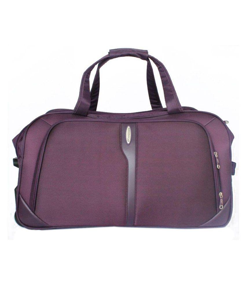 c5f87356c1f0 Princeware Purple Duffle Bag - Buy Princeware Purple Duffle Bag Online at  Low Price - Snapdeal