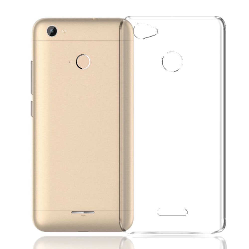 Panasonic Eluga A2 Cover by Galaxy Plus - Transparent