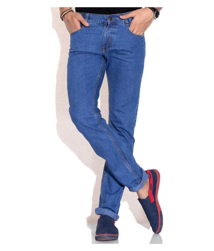 Inspire Next Blue Regular Fit Basic