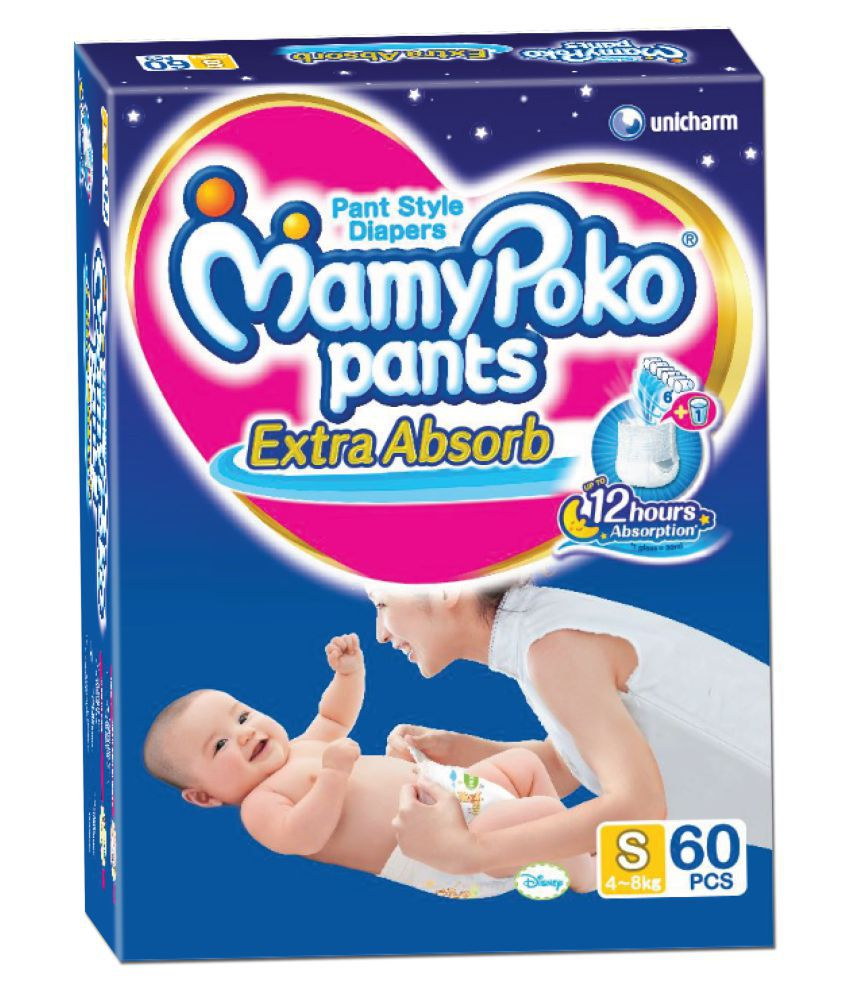 MamyPoko Pants Small Diapers - 60 Pieces