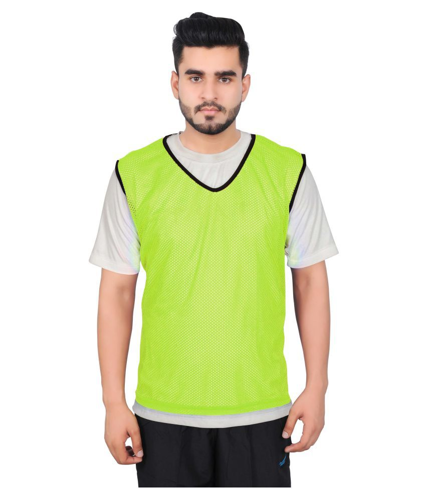 GSI Green Sports Vest - Pack of 12