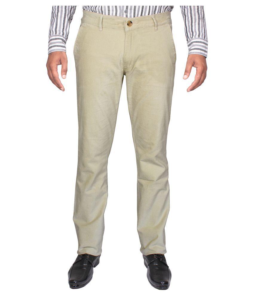 Cay Multi Slim Flat Trouser