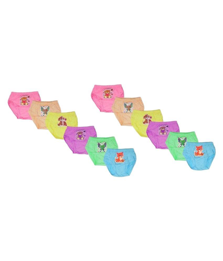 MRB Multicolor Panties - Pack of 12