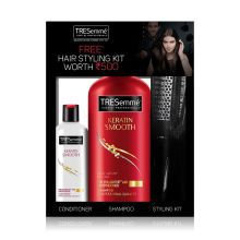 Buy TRESemme Keratin Smooth Shampoo 580 Ml With Conditioner 85 Ml & Get A Salon Kit Free