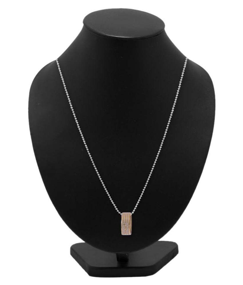 Voylla Gold Pendant with Chain