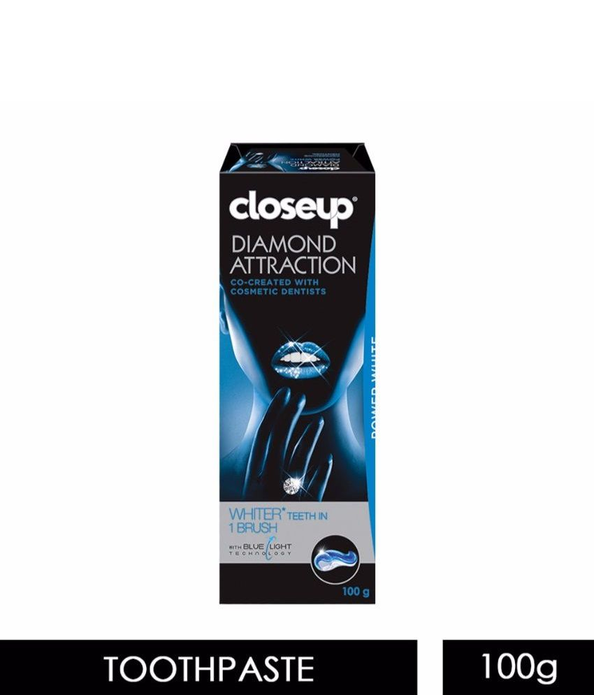 closeup diamond attraction instant whitening toothpaste 100 g buy