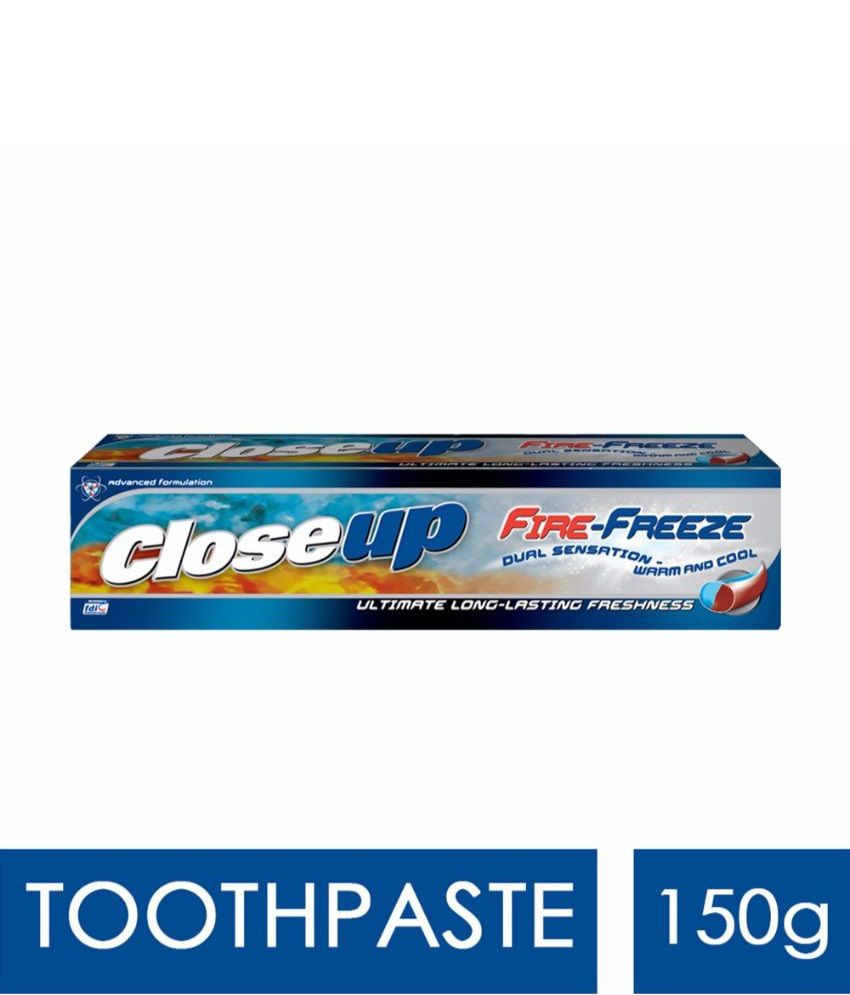 Closeup Fire Freeze Gel Toothpaste 150 G