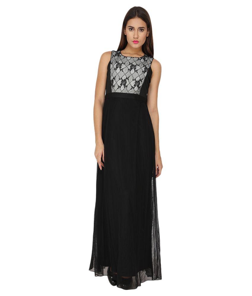 Soie Black Lace Dresses