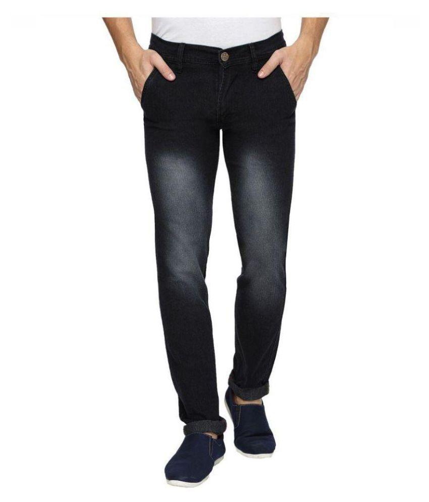 Inspire Next Black Regular Fit Faded