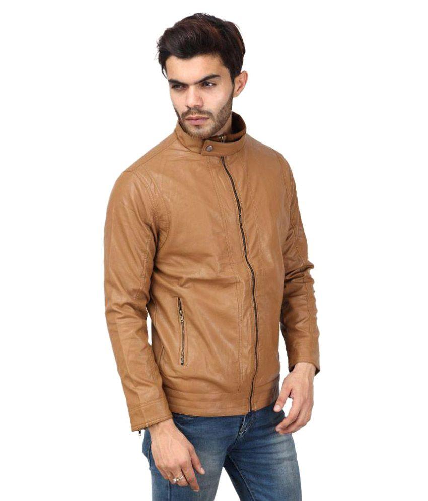 Tashi Delek Brown Casual Jacket Price in India on 20-10-2017, Buy ...