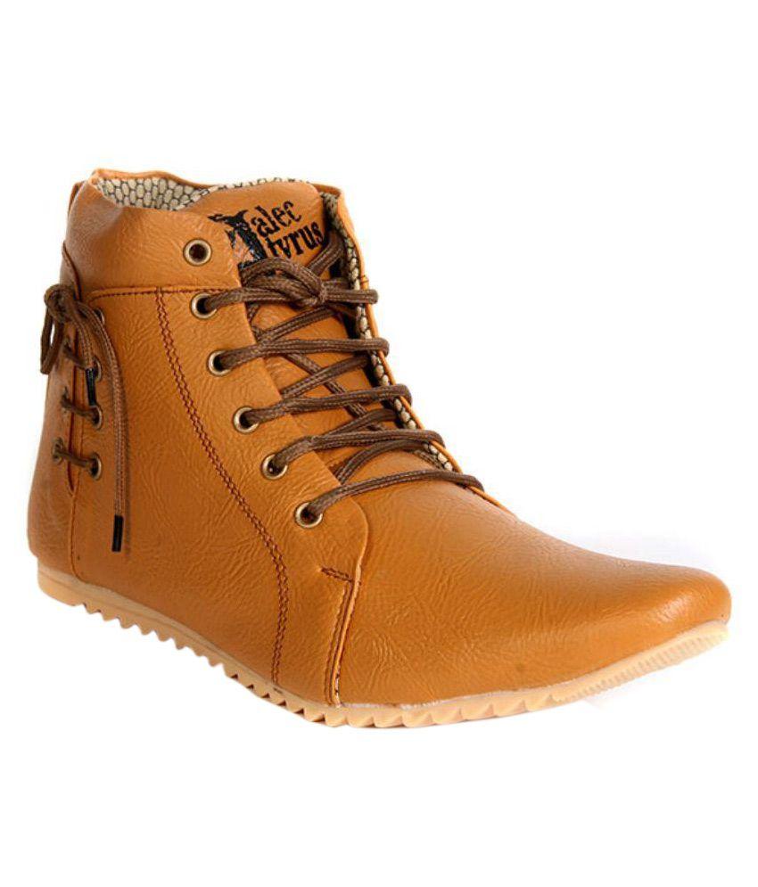 Alec Tyrus Tan Casual Boot