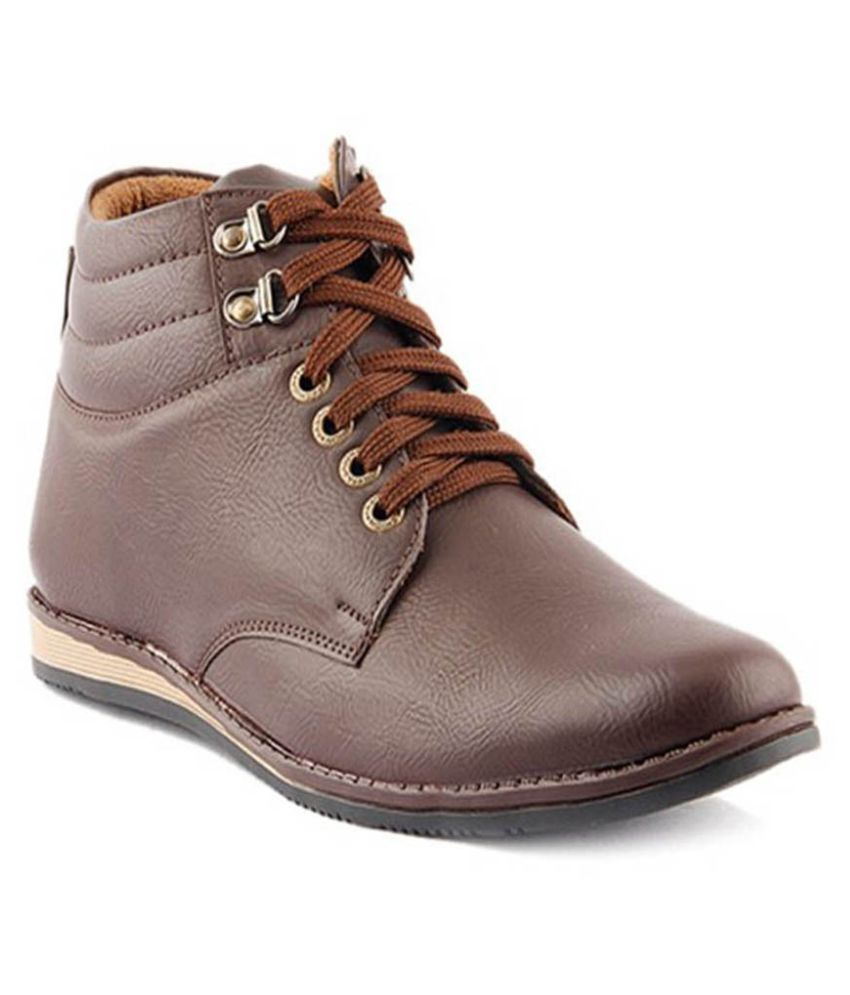 Knight Brown Casual Boot