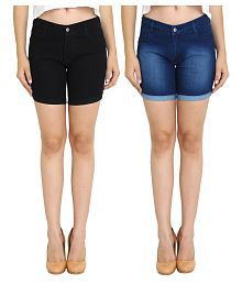 Shorts for Women: Buy Women Shorts Online at Best Prices in India ...