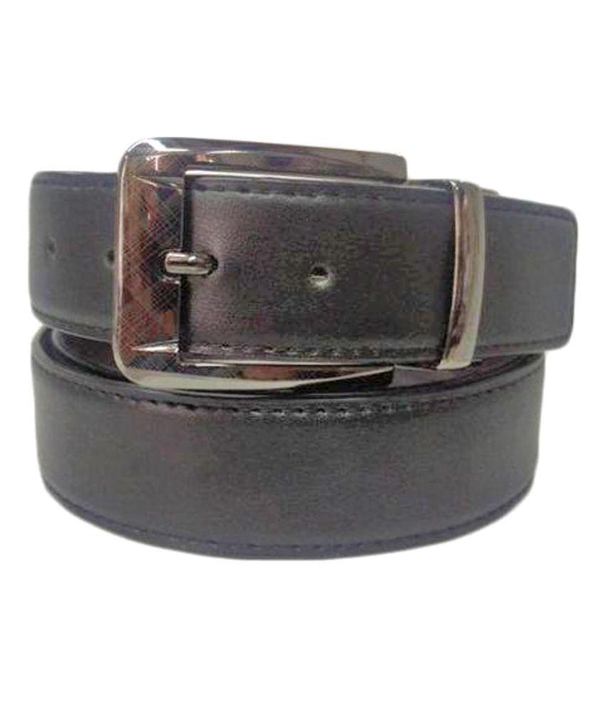 Revo Black PU Formal Belts
