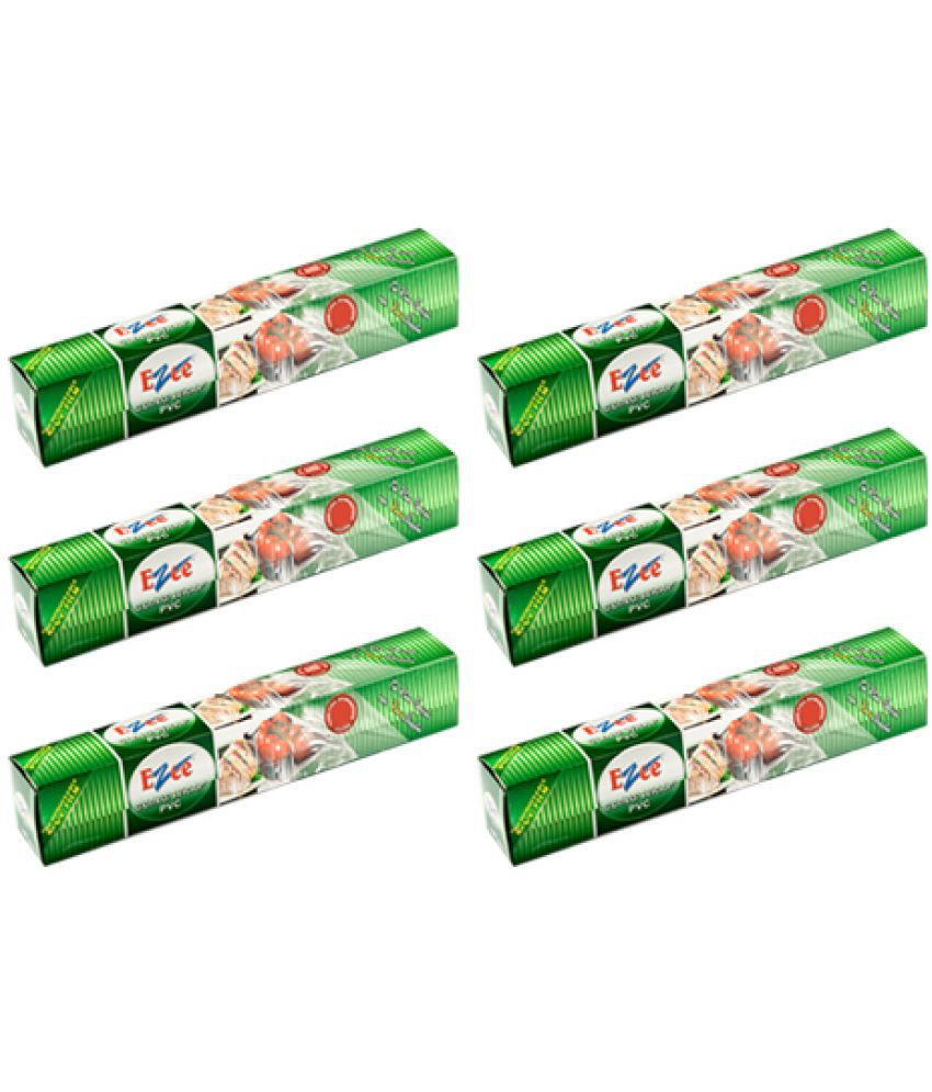 Ezee Cling Film Shrinkwrap 100 Mtr 12 Inches Width Pack Of 6