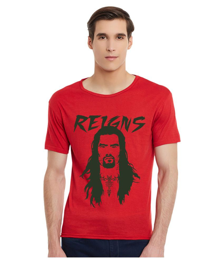 Incynk Red Round T-Shirt
