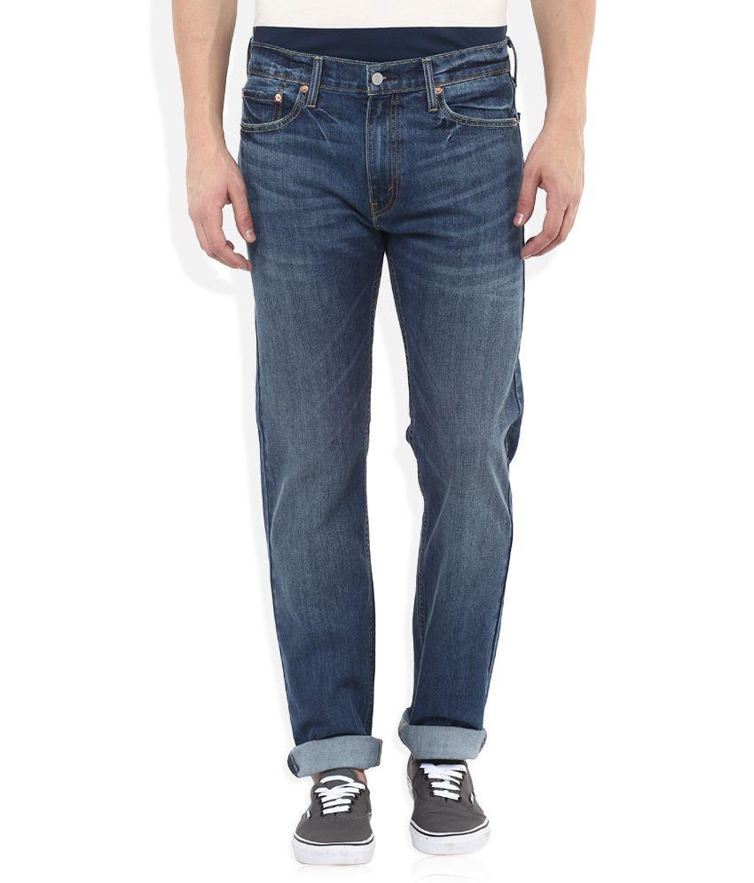 Levis Blue 513 Slim Fit Jeans