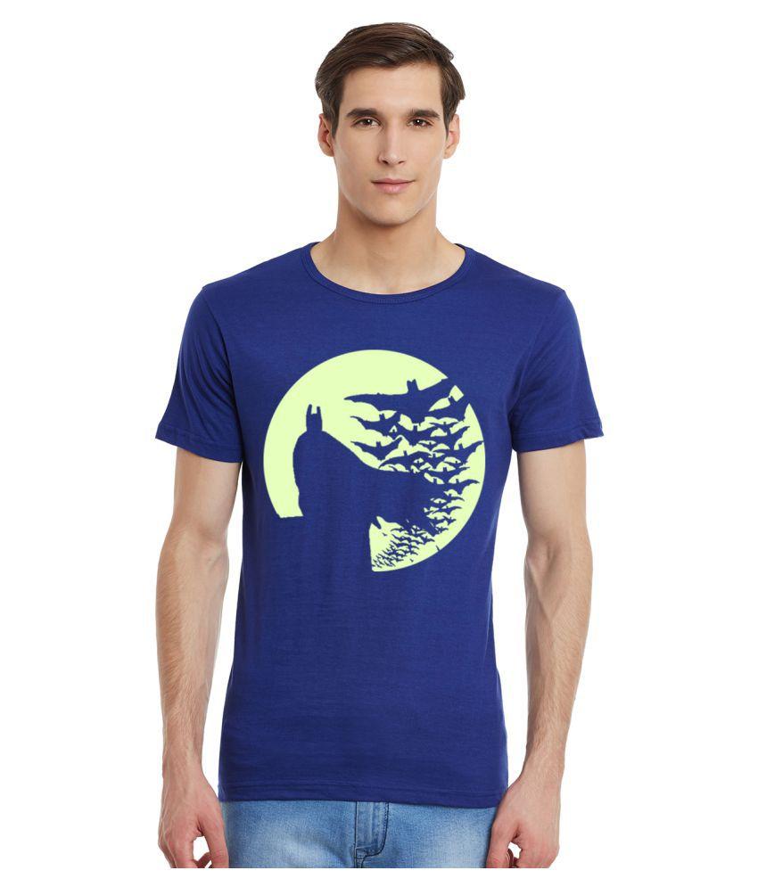 Incynk Blue Round T-Shirt