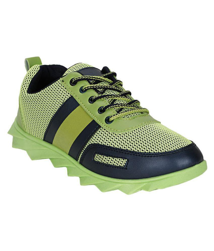 SLV Soft Green Running Shoes