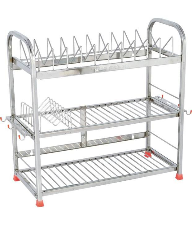 buy amol stainless steel utensils rack online at low price in india rh snapdeal com stainless steel kitchen rack storage stainless steel kitchen rack hooks