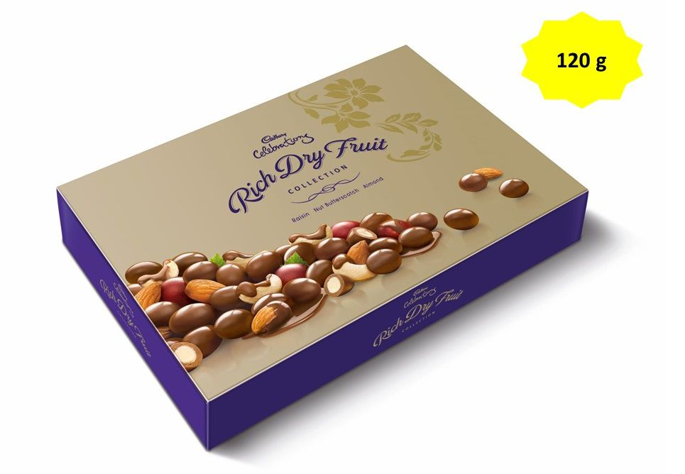 Cadbury celebrations chocolate covered nuts rich dry fruit chocolate cadbury celebrations chocolate covered nuts rich dry fruit chocolate gift pack 120 gm thecheapjerseys Images