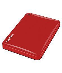 Toshiba Canvio Connect II 3 TB USB 3.0 External Hard Drive (Red)